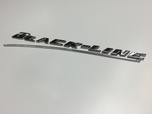 Blackline chrome logo